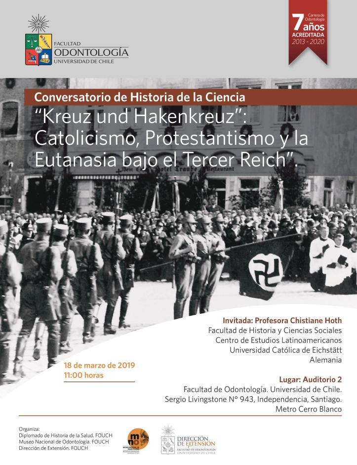 Christiane Nazismo y religion 2019